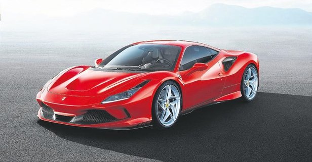 Ferrari'den 720 hp'lik F8 Tributo