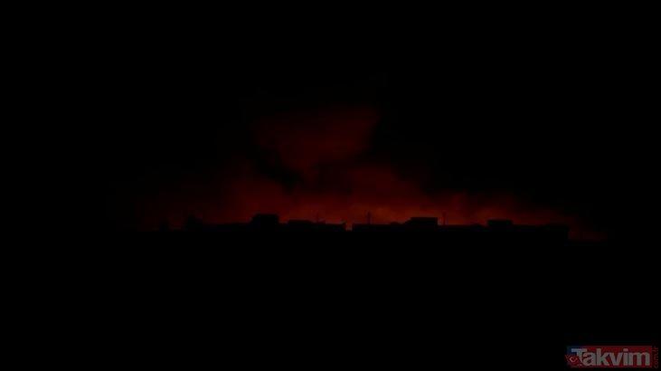 Fırat'ın doğusuna yapılan Barış Pınarı Harekatı'nda 2.gün! İşte dakika dakika harekattaki gelişmeler