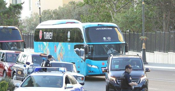 A Milli Takım, Bakü'ye geldi