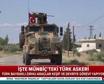 Türk askeri Münbiçte