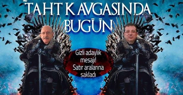 CHP'deki taht oyunlarında son perde! Kılıçdaroğlu'nun restine rağmen Ekrem İmamoğlu aday değilim demedi - Takvim