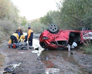 Sivas'ta korkunç kaza! Ölü ve yaralılar var