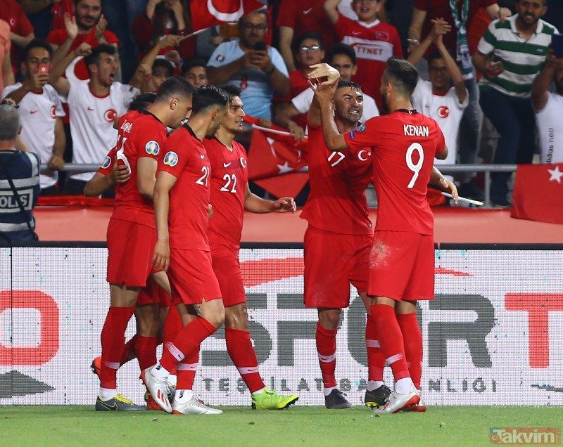 Konya'da Fransa'ya soğuk duş | Türkiye:2 - Fransa:0 Maç sonucu