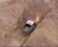 Barış Pınarı Harekatı bölgesinde bombalı araç ele geçirildi