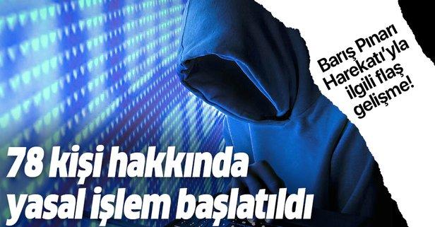 Barış Pınarı Harekatı'yla ilgili flaş gelişme!