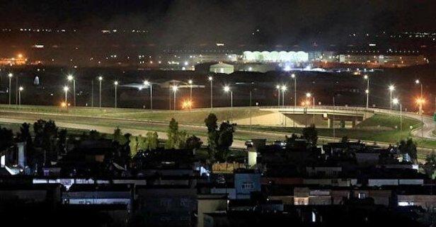 Erbil Havaalanı'na saldırı!