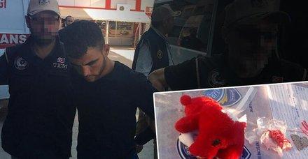 Konya'da oyuncak ayı içerisindeki bomba ile yakalanan teröristler tutuklandı