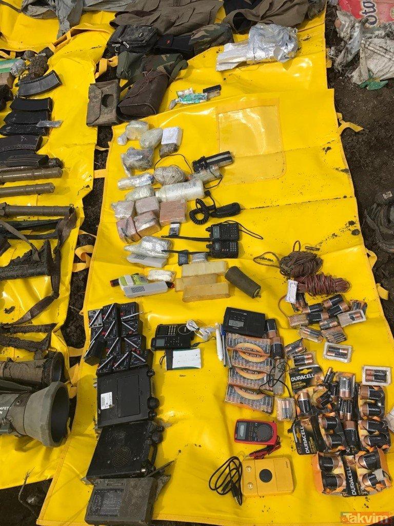 Şırnak'ta PKK'ya dev operasyon! Çok sayıda silah ve mühimmat ele geçirildi...