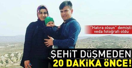Hakkari'de şehit olan anne ve bebeğin hain saldırı öncesi son aile fotoğrafları ortaya çıktı