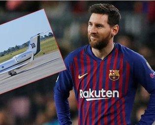 İşte Messi'nin süper lüks uçağı