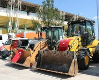 Türkiye'den o bölgeye 26 iş makinesi hibe