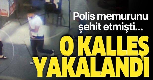 Diyarbakır'da polis memurunu şehit eden kalleş yakalandı