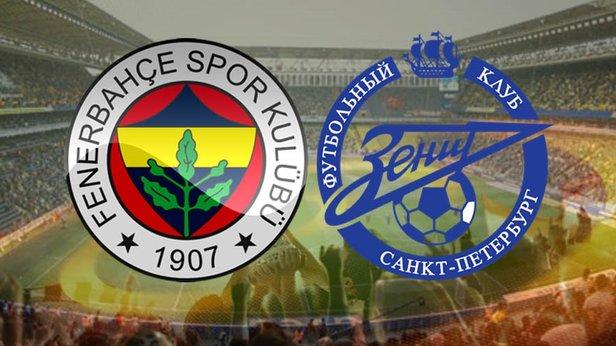 Fenerbahçe Zenit Maçı Ne Zaman, Hangi Kanalda? UEFA Avrupa