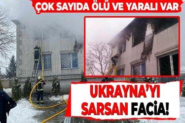 Ukrayna'nın Harkov kentinde facia: Huzurevinde çıkan yangında 15 kişi öldü