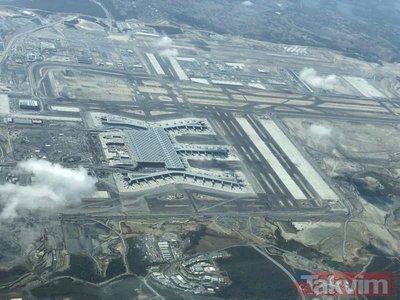 Yeni Havalimanının son hali görüntülendi! İşte Yeni Havalimanının havadan görünümü