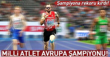 Son dakika: Ramil Guliyev, Avrupa şampiyonu