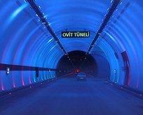 Ovit Tüneli'nden geçen adamın mutluluğu