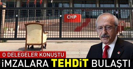 CHP'de imzasını geri çeken delegeler konuştu: Tehdit edildik