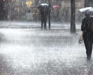 Meteorolojiden hafta sonu uyarısı!