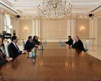 Bakan Pakdemirli, Aliyev ile görüştü