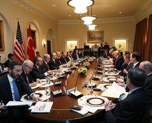 Erdoğan ve Trump çalışma yemeğinde dikkat çeken detay: Türkiye'nin terörle mücadelesi