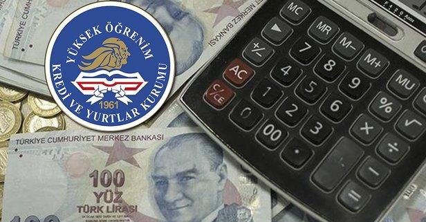KYK burs ve kredi ücretleri ne kadar oldu?