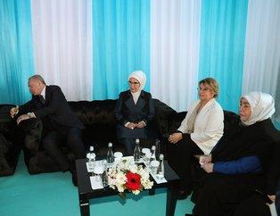 Mehmet Ağar ve Tansu Çiller Cumhur İttifakı'nın Büyük İstanbul Mitingi'nde! Başkan Erdoğan karşıladı