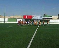 TSK'nın terörden temizlediği El Bab'da futbol sevinci