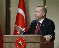Başkan Erdoğandan Kıbrıs mesajı