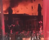 Marmara Üniversitesi'nde yangın