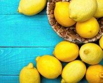 Böbrek taşına limon sıkın!