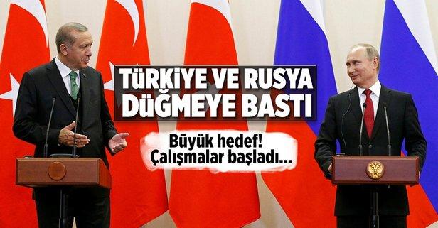Çalışmalar başladı! Türkiye ve Rusya...