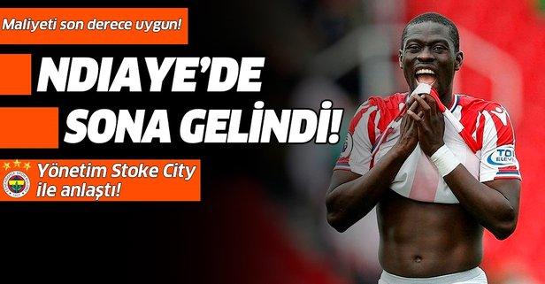 Fener Ndiaye'yi 'Stoke'ladı