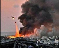 Lübnan patlamanın peşini bırakmıyor!