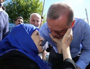 Cumhurbaşkanı Erdoğan, Çamlıca Kulesinde incelemelerde bulundu