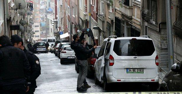 Şişli'de panik anları! Polis sokağı kapattı