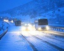 Ulaşıma kar engeli! O yollar kapandı...