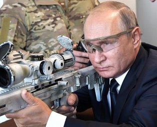 Putin 600 metreden hedefi vurdu