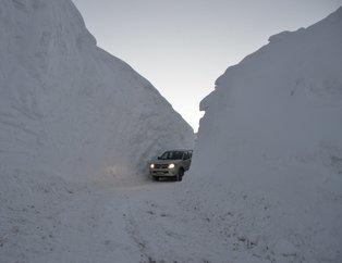 Hakkari'de kar kalınlığı 4 metreyi geçti
