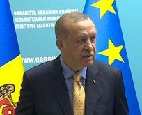 Başkan Erdoğandan Gagavuzyada