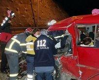 TEM'de feci kaza: Çok sayıda yaralı var