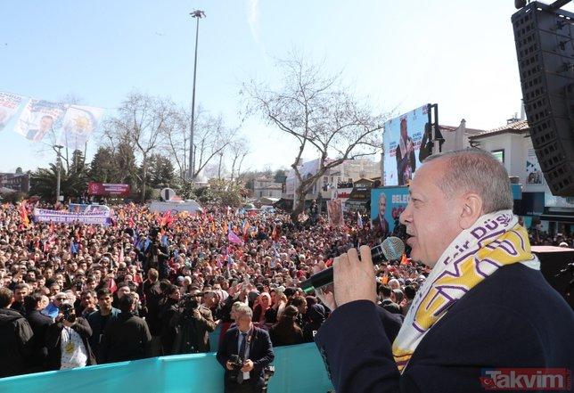 Başkan Erdoğan'ın yoğun İstanbul turundan özel kareler!