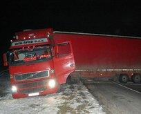 Çorlu-Edirne Karayolu ulaşıma kapandı