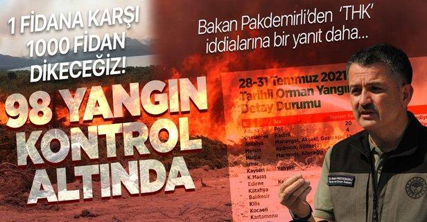 Türkiye'nin yangın kabusu bitmiyor!