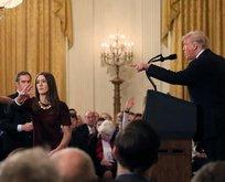 Trump gazeteciye öfke kustu!