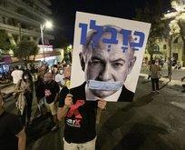 Batı Kudüs'te Netanyahu karşıtı gösteri
