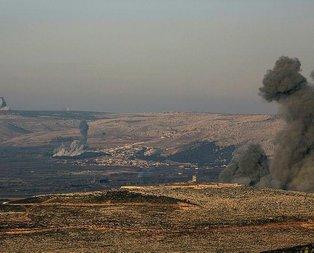 F-16lar Afrini bombalamaya başladı!
