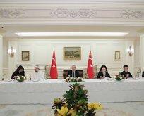 Başkan'dan azınlık temsilcileriyle iftar