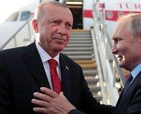 Putin, Başkan Erdoğan'ı böyle uğurladı