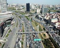 İstanbul'da trafik kilitlendi! Yoğunluk yüzde 62'lere ulaştı!